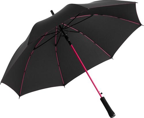 1084 AC regular umbrella Colorline - Black-magenta