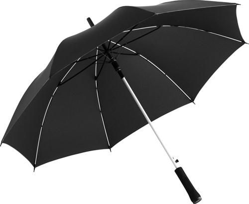 1084 AC regular umbrella Colorline - Black-white