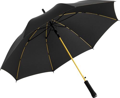 1084 AC regular umbrella Colorline - Black-yellow