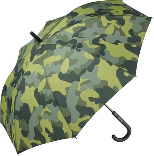 1118 AC regular umbrella FARE®-Camouflage - Olive-combi