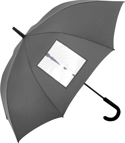 1119 AC regular umbrella FARE®-View - grey - one size
