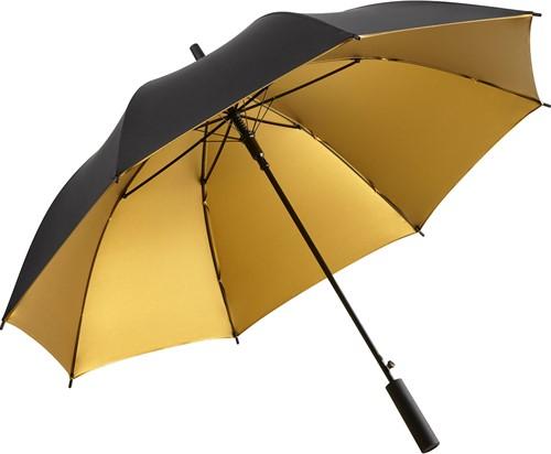 1159 AC regular umbrella FARE®-Doubleface - Black/gold
