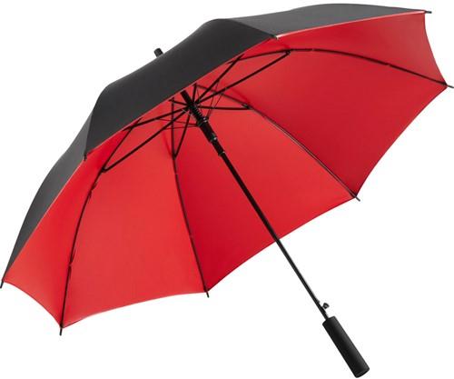 1159 AC regular umbrella FARE®-Doubleface - Black/red