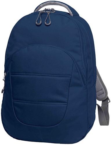1812213 Laptoprugzak CAMPUS - Marineblauw - 43 x 30 x 12/15