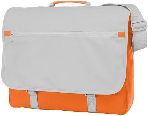 1813346 Schoudertas CONGRESS - Oranje - 33 x 40 x 11