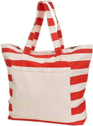 1814023 Shopper BEACH - Oranje - 46 x 60/42 x 18