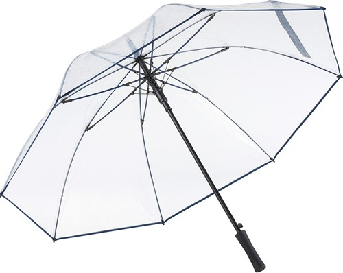 2333 AC golf umbrella FARE®-Pure - Transparent-navy