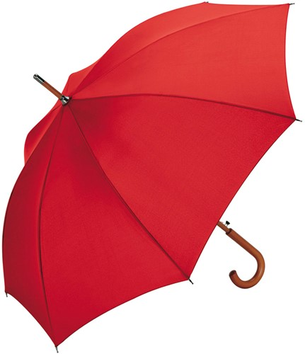 3310 AC woodshaft regular umbrella - Red