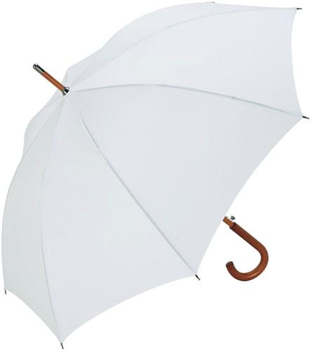 3310 AC woodshaft regular umbrella - White