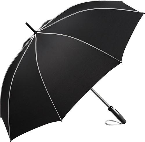4399 AC midsize umbrella FARE®-Seam - Black-light grey