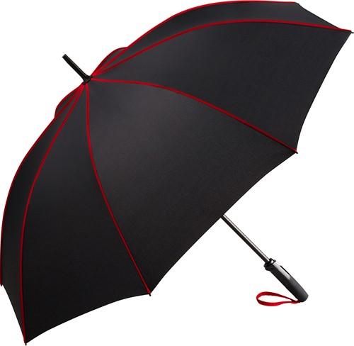 4399 AC midsize umbrella FARE®-Seam - Black-red