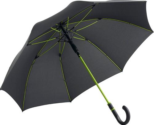 4784 AC midsize umbrella FARE®-Style - Black-lime