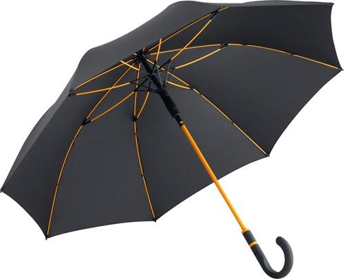 4784 AC midsize umbrella FARE®-Style - Black-orange