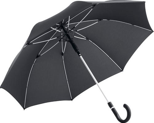 4784 AC midsize umbrella FARE®-Style - Black-white