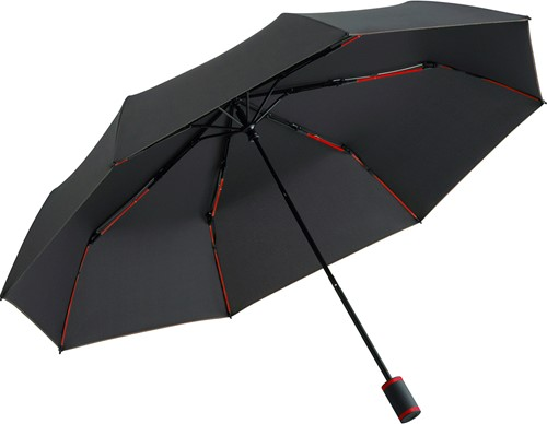 5084 Mini umbrella FARE®-Mini Style - Black-red