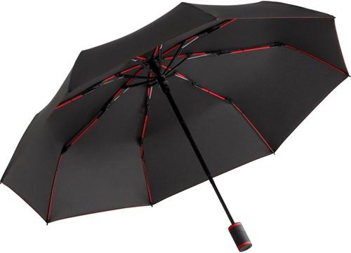5484 Mini umbrella FARE®-AOC-Mini Style - Black-red