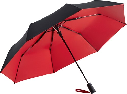 5529 AC mini umbrella FARE®-Doubleface - Black/red