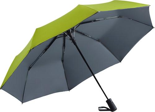 5529 AC mini umbrella FARE®-Doubleface - Lime/grey