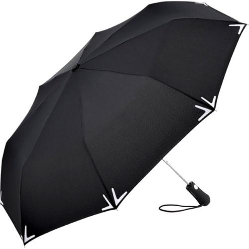 5571 AC mini umbrella Safebrella® LED - Black