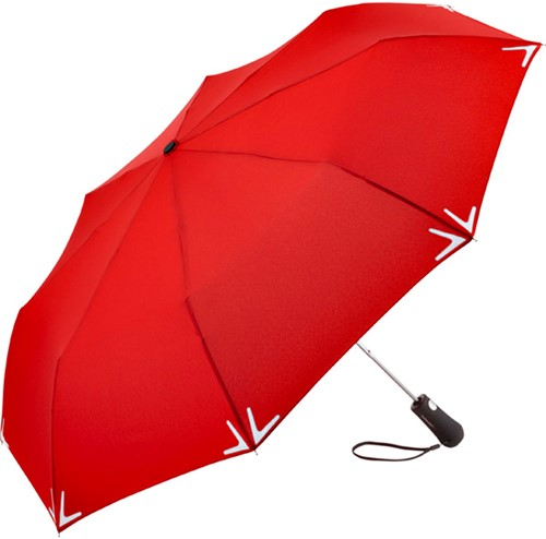5571 AC mini umbrella Safebrella® LED - Red