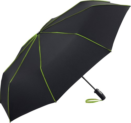 5639 AOC oversize mini umbrella FARE®-Seam - Black-lime