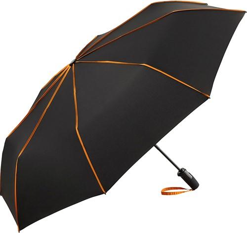 5639 AOC oversize mini umbrella FARE®-Seam - Black-orange