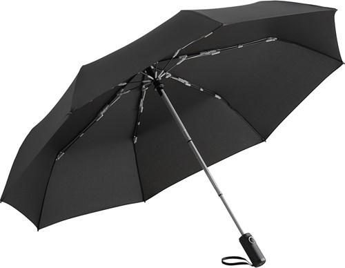 5644 Oversize mini umbrella FARE®-AOC Colorline - Black-light grey
