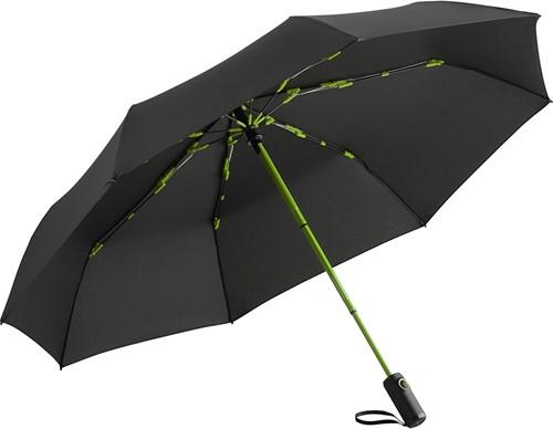 5644 Oversize mini umbrella FARE®-AOC Colorline - Black-lime