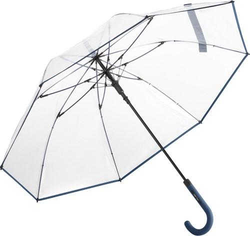 7112 AC regular umbrella FARE®-Pure - Transparent-navy