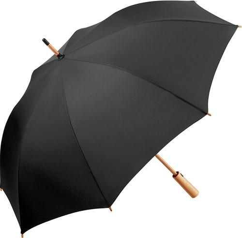 7379 AC midsize bamboo umbrella ÖkoBrella - Black