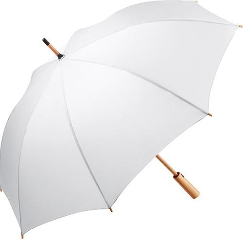 7379 AC midsize bamboo umbrella ÖkoBrella - White