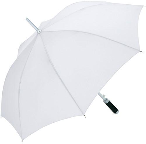 7860 AC alu regular umbrella Windmatic - White