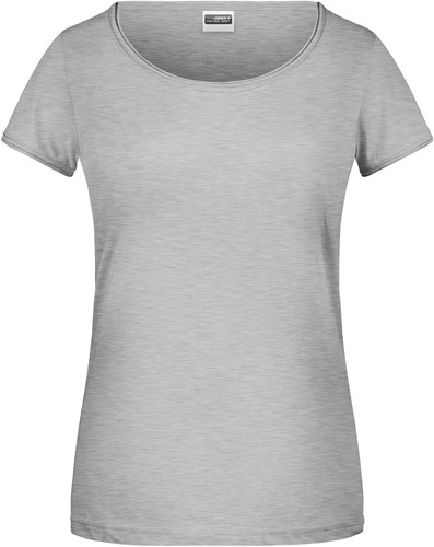 8001 Ladies'-T - Heather-grijs - XL