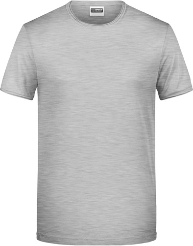 8002 Men's-T - Heather-grijs - S