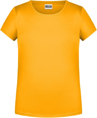 8007G Girls' Basic-T - Goudgeel - M