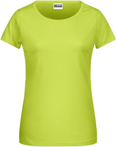 8007 Ladies' Basic-T - Chemisch geel - XS