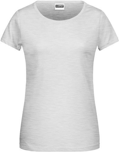 8007 Ladies' Basic-T - Asgrijs - XS