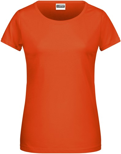 8007 Ladies' Basic-T - Donkeroranje - XXL
