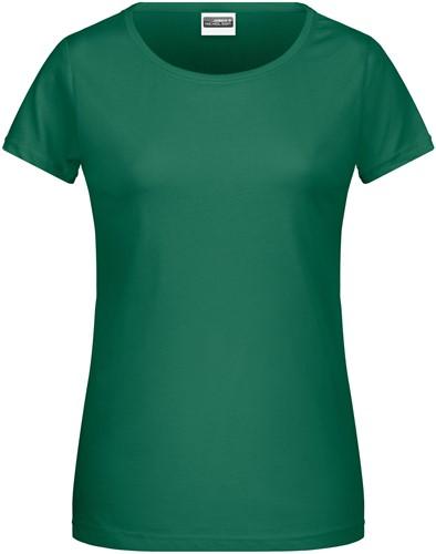 8007 Ladies' Basic-T - Iers-groen - L