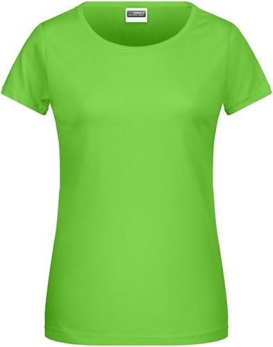 8007 Ladies' Basic-T - Lime - M