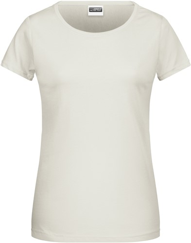 8007 Ladies' Basic-T - Naturel - L