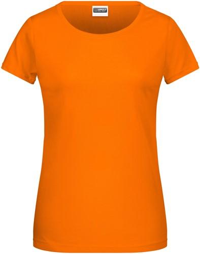 8007 Ladies' Basic-T - Oranje - S