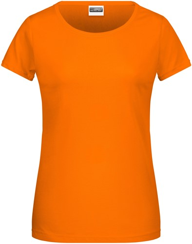 8007 Ladies' Basic-T - Oranje - XS