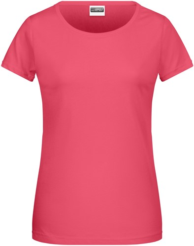 8007 Ladies' Basic-T - Framboos - M