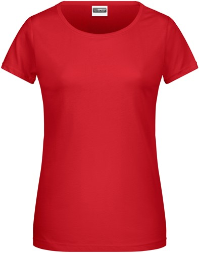 8007 Ladies' Basic-T - Rood - S