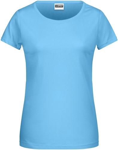 8007 Ladies' Basic-T - Hemelsblauw - L