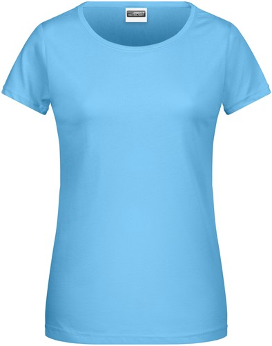8007 Ladies' Basic-T - Hemelsblauw - XXL