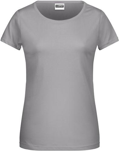 8007 Ladies' Basic-T - Staal-grijs - XL