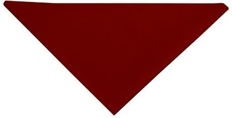 AD 1 Triangular Scarf 71 x 71 x 100 cm - Bordeaux - Stck