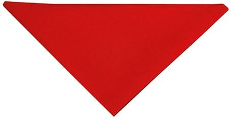 AD 1 Triangular Scarf 71 x 71 x 100 cm - Red - Stck